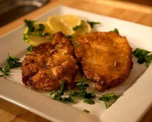 Chicken in Lemon Sauce - Scaloppine di Pollo al Limone