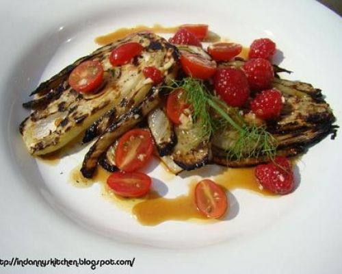 Grilled Fennel Salad