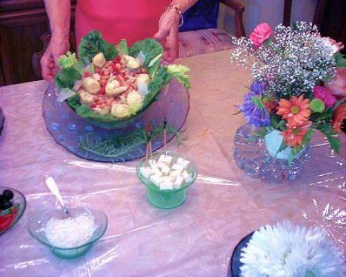 Chickpeas and Artichokes Salad - Ceci e Carciofi Marinati