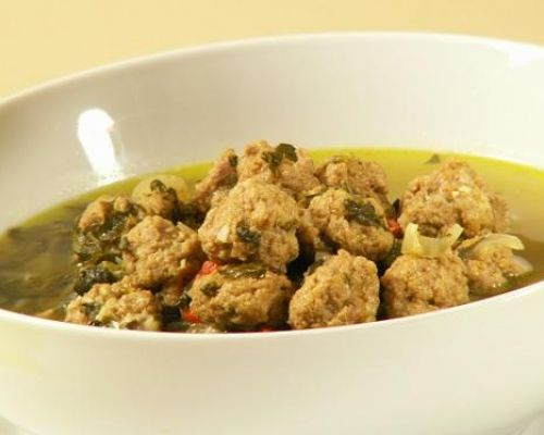 Polpettine in Brodo - Tiny Meatballs in Soup