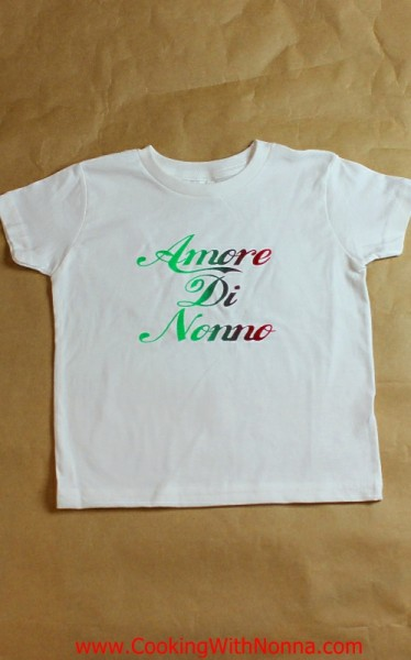 bf5759eb9 Children's T-Shirts - Cooking with Nonna
